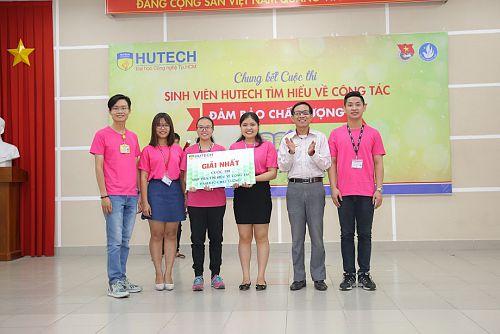 """Khoa Quản trị kinh doanh chiến thắng """"Sinh viên HUTECH tìm hiểu về công tác đảm bảo chất lượng"""""""
