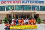 Sinh viên ngành Công nghệ kỹ thuật ô tô tham quan thực tế tại Nhà máy Ô tô Đô Thành
