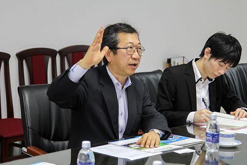 Tổng Cục trưởng Cục Thương mại và Hợp tác Kinh tế Nhật Bản làm việc tại HUTECH