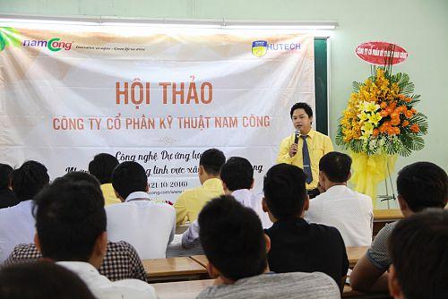 Sinh viên Khoa Xây dựng cập nhật công nghệ dự ứng lực cùng Nam Cong Group