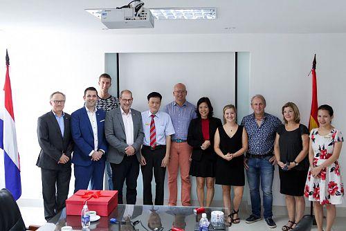 Đại học Avans (Hà Lan) đẩy mạnh chương trình Trao đổi sinh viên với HUTECH