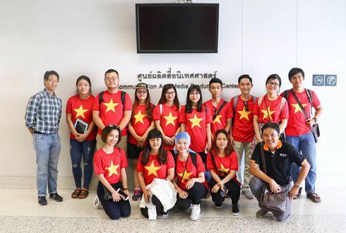 Sinh viên HUTECH sinh hoạt ngoại khóa hè 2016 tại Thái Lan