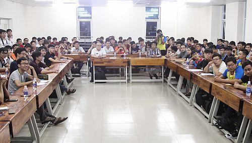 Khoa Công nghệ thông tin ra mắt CLB HUTECH Youth Dev