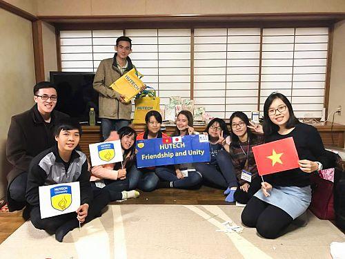 Những trải nghiệm của sinh viên HUTECH tại ĐH Công nghệ Kanazawa – Nhật Bản