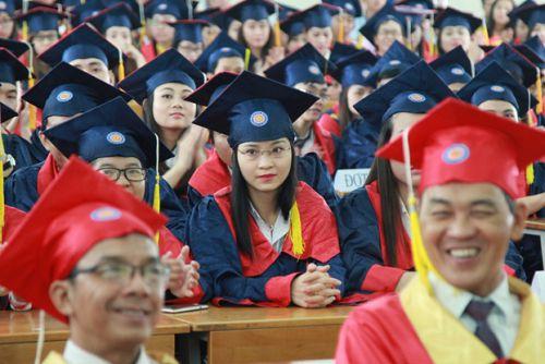 HUTECH tổ chức Lễ tốt nghiệp cho sinh viên Cao đẳng thực hành khóa 2012